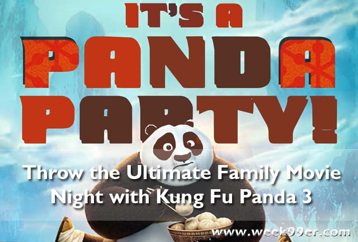 kung fu panda party pack