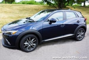Hitting the Road with the 2016 Mazda CX-3 Grand Touring AWD