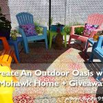 Create an Outdoor Oasis with Mohawk Home + Giveaway