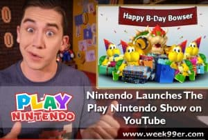 Nintendo Launches The Play Nintendo Show on YouTube