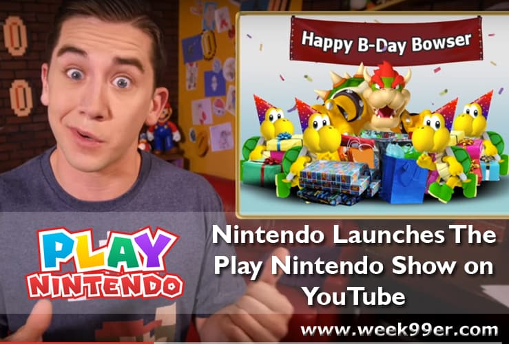 play nintendo launches on youtube