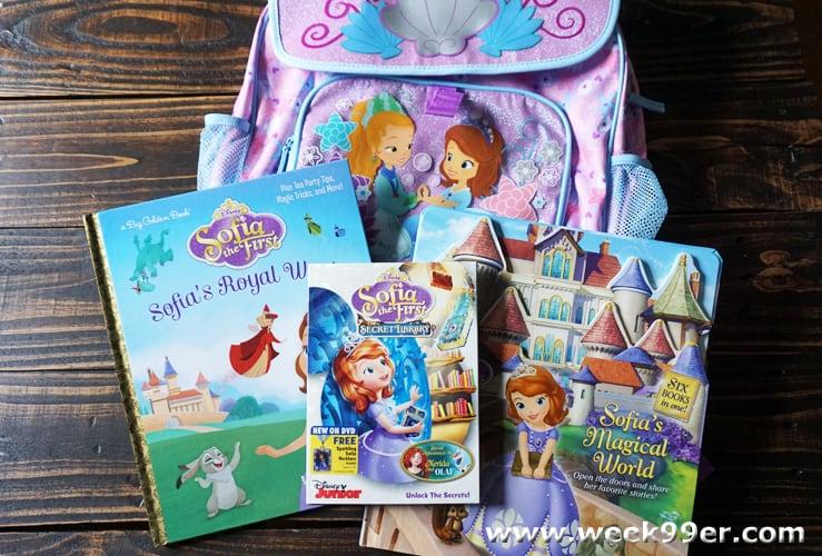 princess sofia library set review