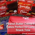 Sara Lee's Peanut Butter Creme Filled Cakes are Perfect for Lunch or Snack Time + Giveaway #ad