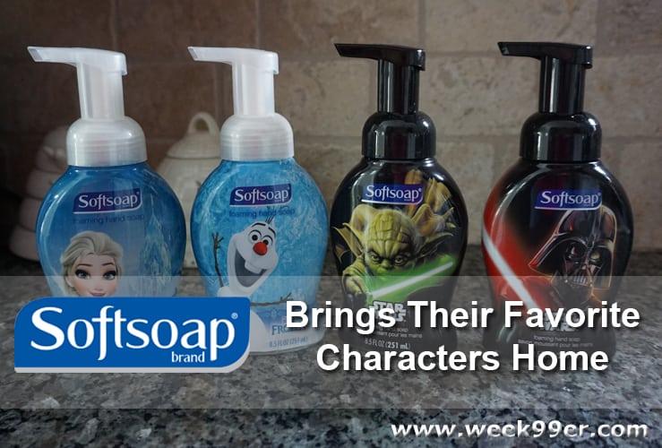 softsoap disney characters