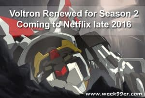 DreamWorks Voltron Renewed for Second Season! #Voltron