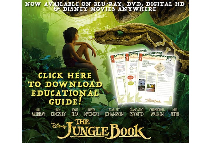 The Jungle Book Educational Guide Free