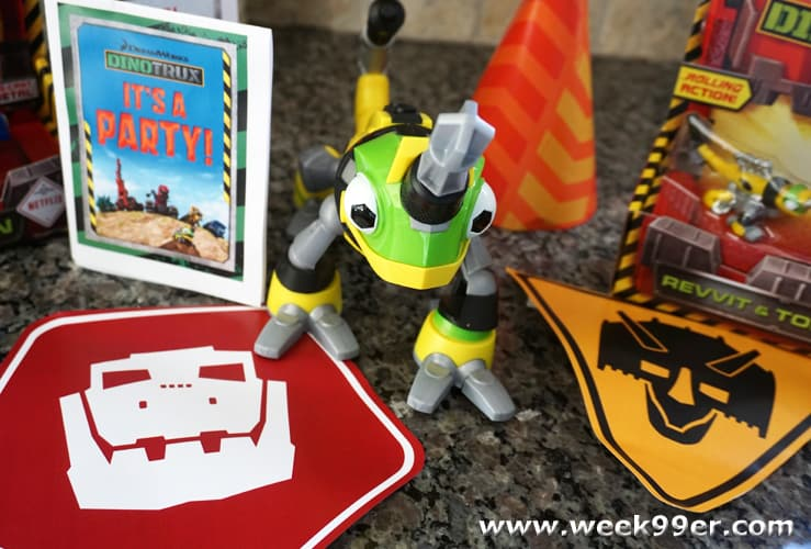 dinotrux party games