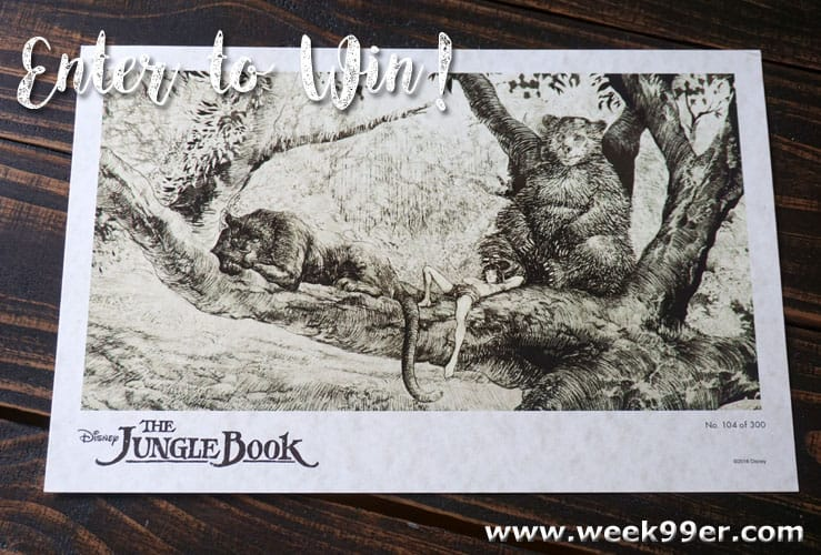 jungle book litho giveaway