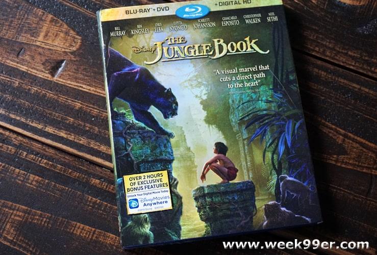 junglebook bluray release date