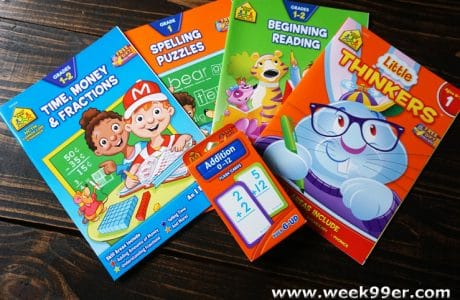 Head Back to School with School Zone Work Books!