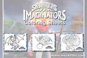 Skylanders Summer Games Printable Coloring Sheets #TrainingFor2020 #Skylanders
