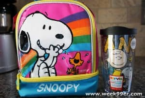snoopy thermos giveaway