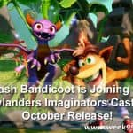 Crash Bandicoot is Joining the Skylanders Imaginators Cast for October Release!