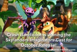 Crash Bandicoot is Joining the Skylanders Imaginators Cast for October Release!