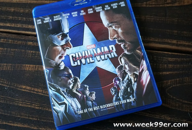 captain america civil war dvd release