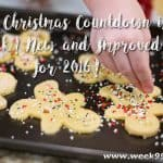 The Christmas Countdown is back – New and Improved for 2016!