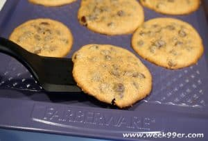 Perfect Gluten Free Chocolate Chip Cookies with Ceramic Baking Sheets from Farberware