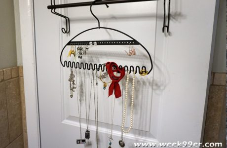 Save Space and Stay Organized with the Hang It Jewelry Organizer