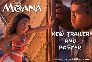 New Moana Trailer and Poster #Moana