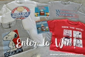 Enter to win a Peanuts Rock the Vote Prize Pack!