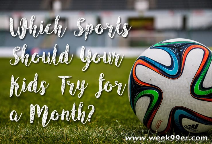sports to try for a month