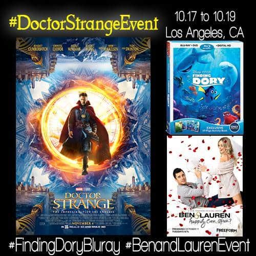 doctor strange event button