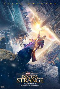 Tilda Swinton Doctor Strange Poster