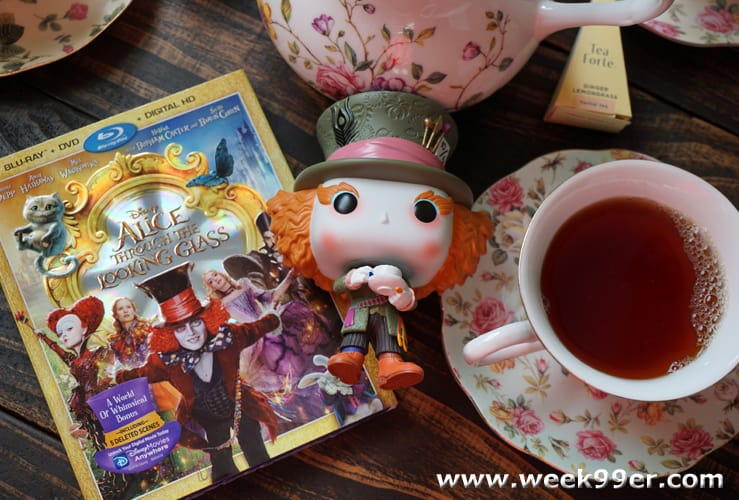 Alice Through the Looking Blu-Ray Glass Review
