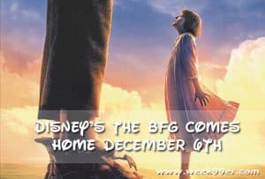 Bring Disney's The BFG home on December 6th! #thebfg