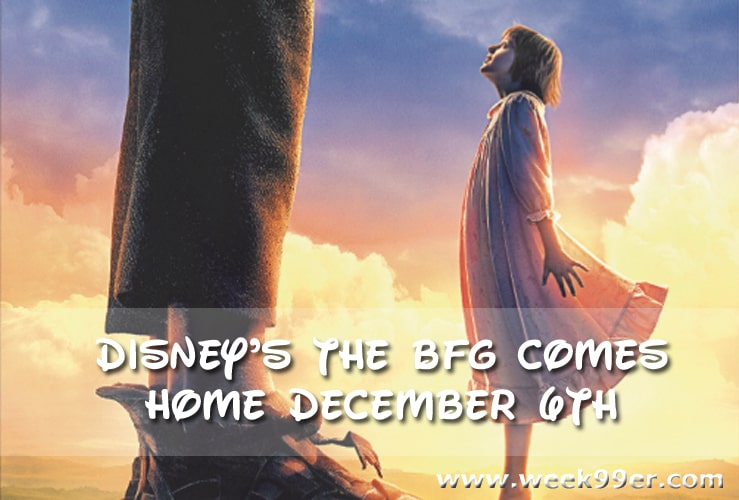 The BFG DVD Release Date
