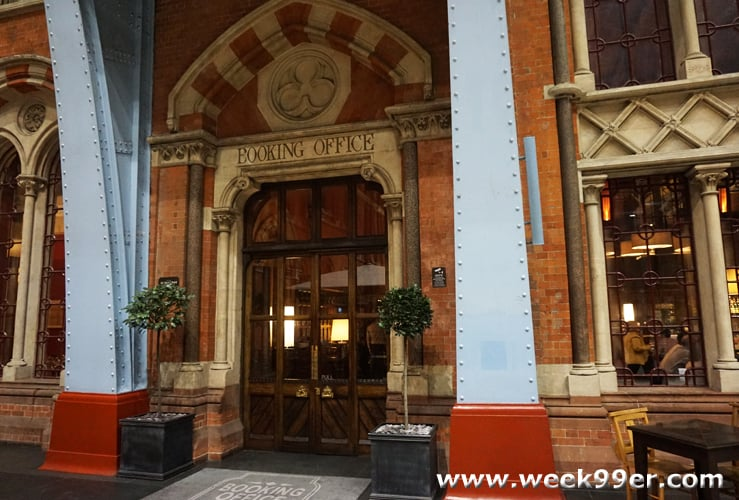 The Booking Office London Review