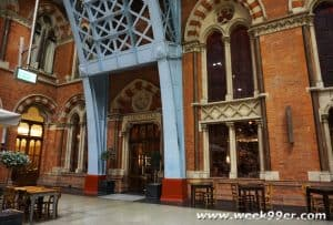 Dine in History at the Booking Office