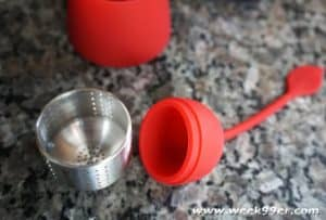 bonjour Teas in a pod infuser review