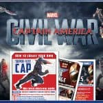 Free Printable Captain America Civil War Activity Sheets