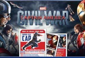 Free Printable Captain America Civil War Activity Sheets