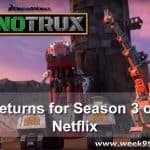 DINOTRUX Returns to Netflix for it's 3rd Season #Dinotrux