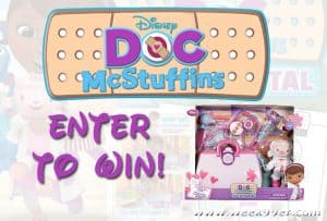 Enter to Win a Doc McStuffins Toy Hospital Play Set + Activity Sheets