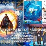 Magic, Pumpkin Carving, Romance and More Ahead on the #DoctorStrangeEvent #FindingDoryBluray #BenandLaurenEvent #MechX4Event