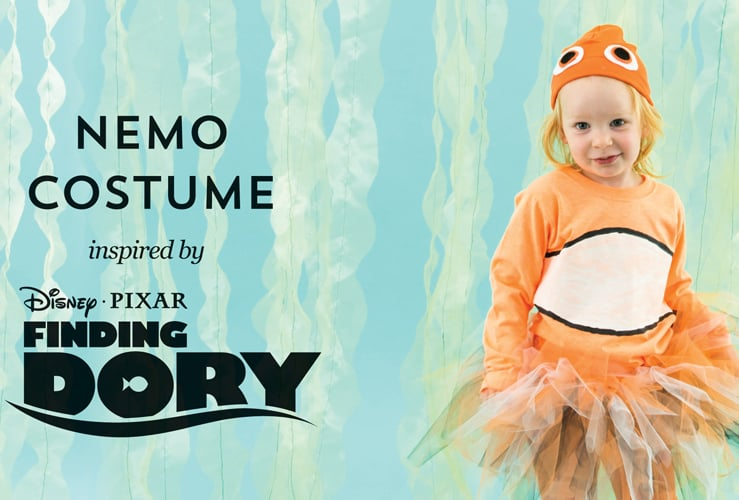 DIY Finding Dory Costumes