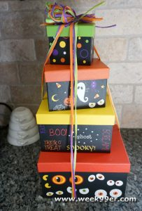 Spooky Eyes Halloween Gift Tower Review