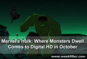 The Full Length Animated Film Marvel's Hulk: Where Monsters Dwell Releases on Digital HD October 21st