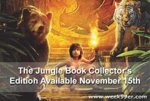 The Jungle Book Scheduled to be Released on Collectors Edition Blu-ray 3D #thejunglebook