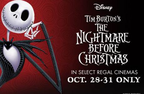 See The Nightmare Before Christmas at Regal Cinemas this Halloween!
