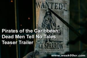 Check out the Pirates of the Caribbean: Dead Men Tell No Tales Teaser Trailer! #APiratesDeathForMe #PiratesOfTheCaribbean