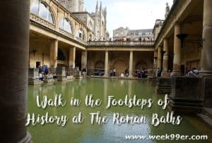 Walk in the Footsteps of History at The Roman Baths #timeforwiltshire #wanderreal