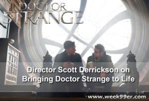 Director Scott Derrickson on Bringing Doctor Strange to Life #Doctorstrangeevent #Doctorstrange
