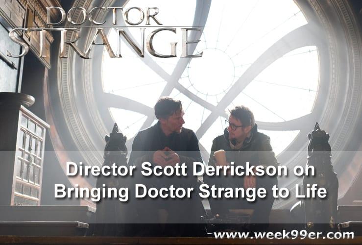 Scott Derrickson Doctor Strange Interview