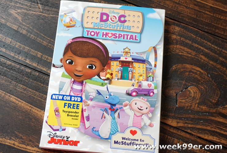 Doc McStuffin's Toy Hospital Comes Home on DVD