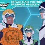 Free Voltron Pumpkin Stencils for Your Halloween Celebrations #Voltron