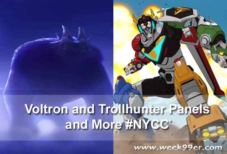 voltron and trollhunter pantels for new york comiccon